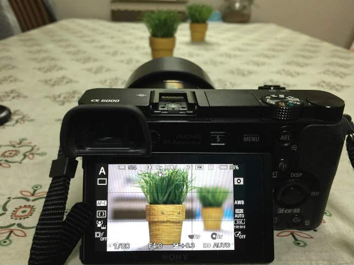 F4にカメラを設定