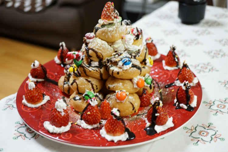 クリスマスケーキ出来上がり