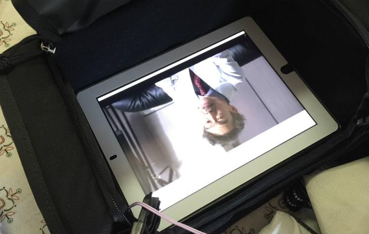 iPadは余裕で入る