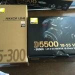D5500箱を開けるとまた箱2つ