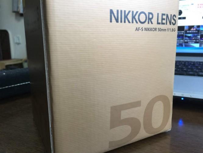 AF-S NIKKOR 50mm f18G フルサイズ対応