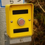 信号機のボタン