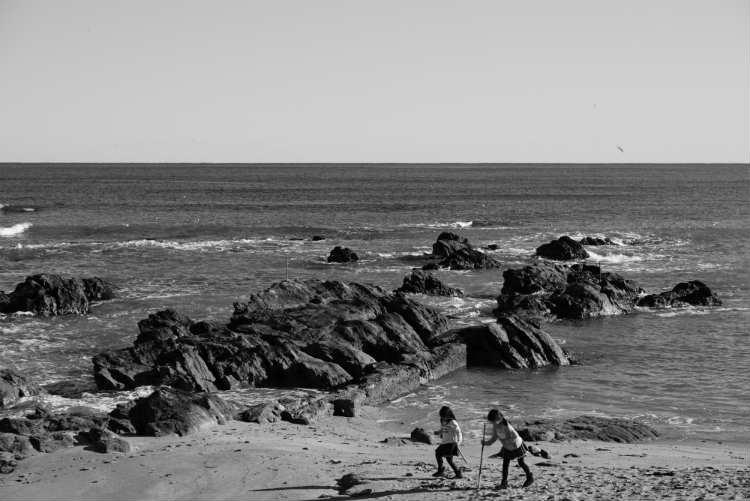 海と娘たち