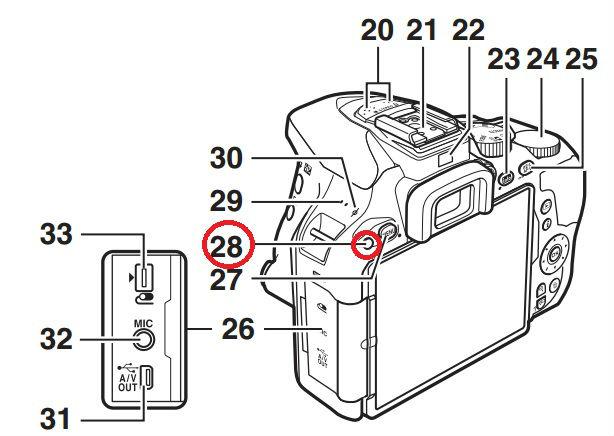 ML-L3リモコン受光部(背面)