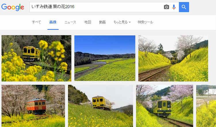菜の花といすみ鉄道2016