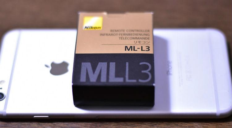 ニコンLM-L3の箱