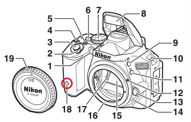 ML-L3リモコン受光部(前面)