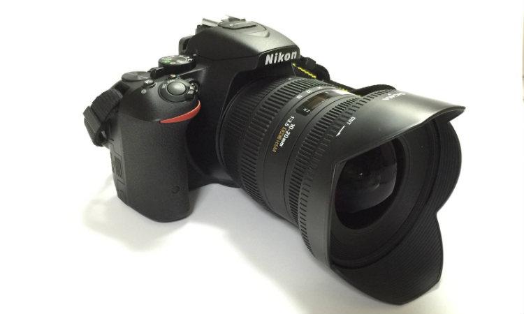 D5500が超広角レンズでかっこよくなった写真