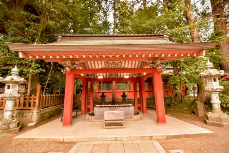 香取神宮の手水舎