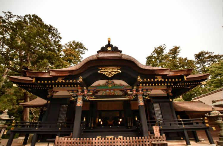 黒いご本殿がカッコイイ香取神宮
