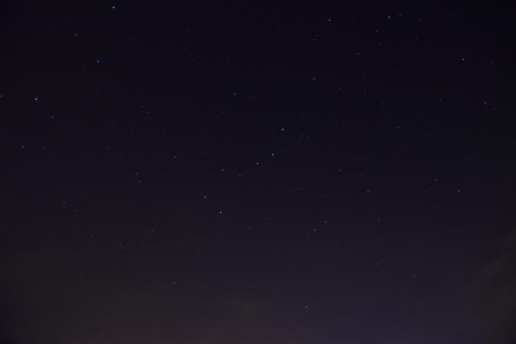 北斗七星を見つけた