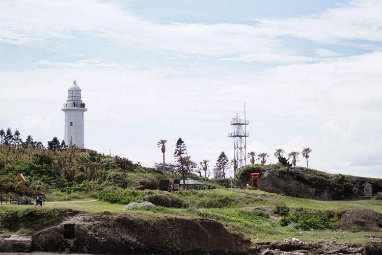 野島崎灯台に夜とか夕方にいってみたい