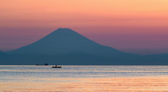 千葉県原岡海岸の夕景は見る価値ありますよ