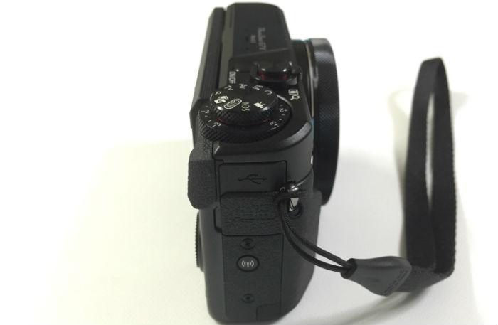 PowerShot G7X Mark2真横