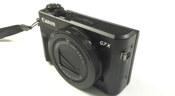 PowerShot G7X Mark2本体