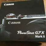 Canon PowerShot G7X MarkⅡ開封