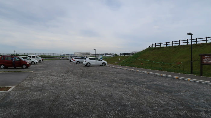 成田空港ひこうきの丘駐車場