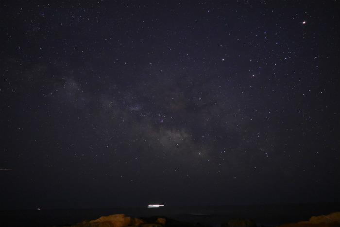 D5500キットレンズで天の川撮影