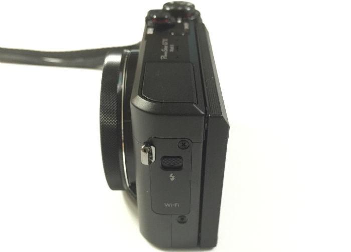 PowerShot G7X Mark2横から