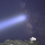 千葉県の天の川撮影スポット野島崎灯台