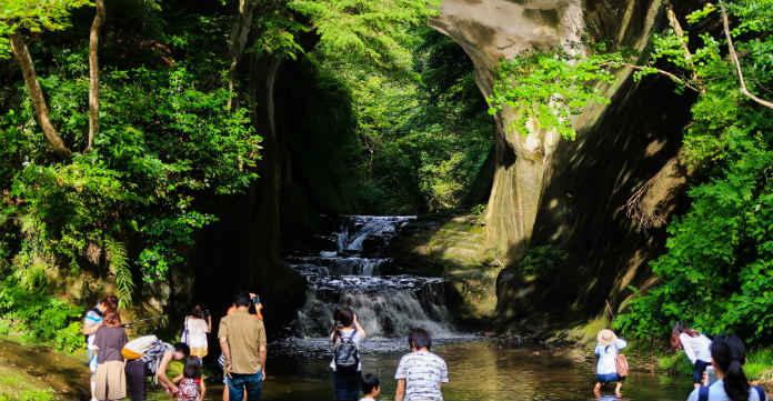 千葉の撮影スポット濃溝の滝