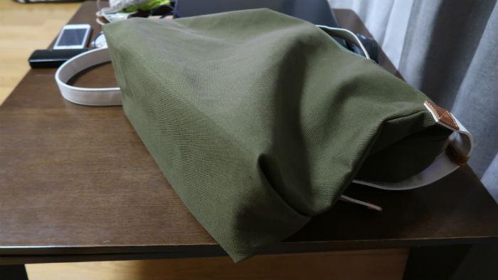 8号帆布の生地でバック製作