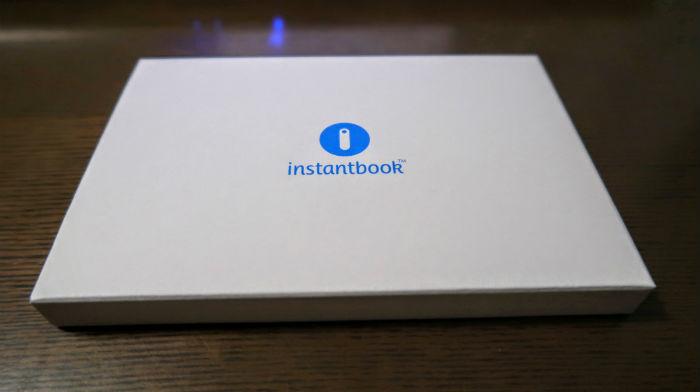 Instantbook本体カバー
