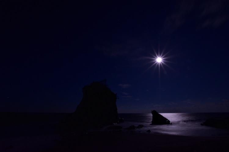 暗くなった雀島
