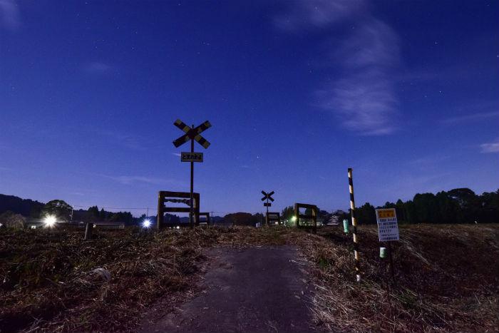 いすみ鉄道の第二五之町踏切