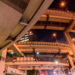 箱崎ジャンクションの夜景撮影