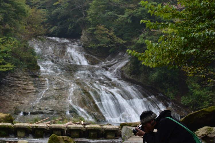 70mmでの滝の様子