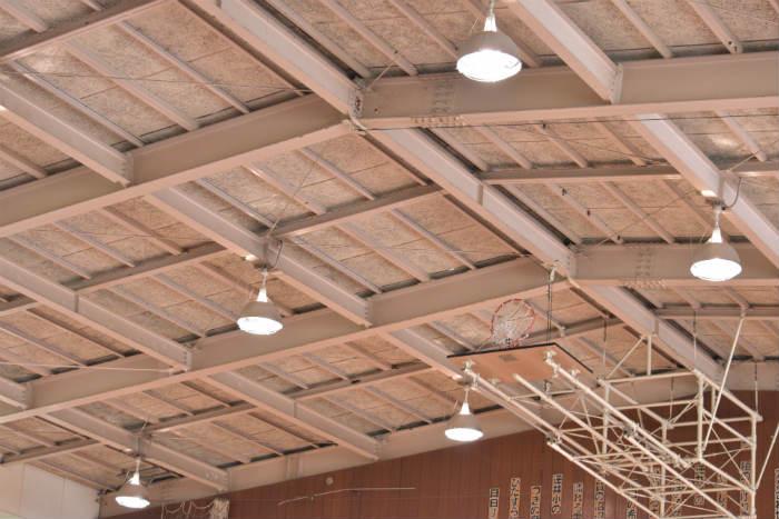 体育館の照明