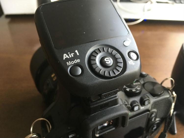 Air-1を装着