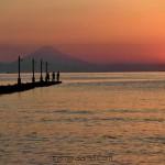 6月は原岡海岸の桟橋