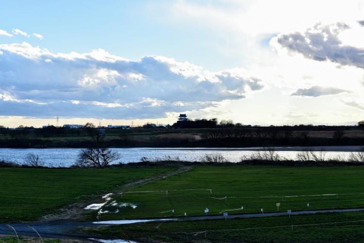 50mmで撮影した関宿城