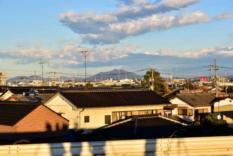 関東の富士見百景の後ろは筑波山