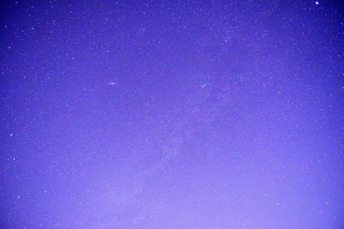 オールドレンズで星撮影