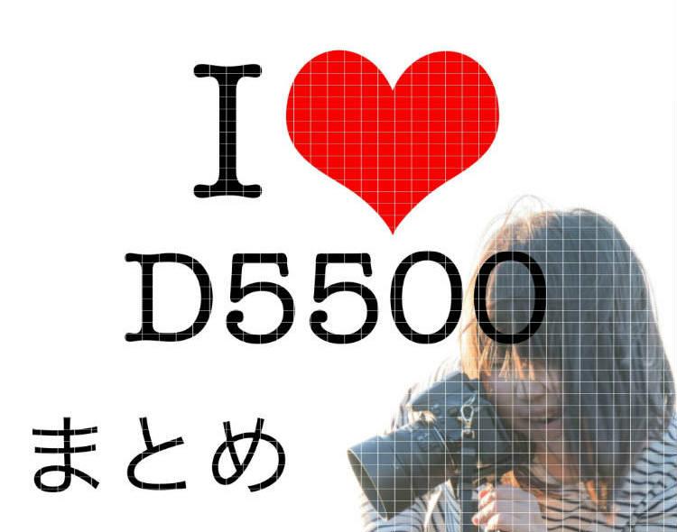 D5500一年レビューとまとめ記事