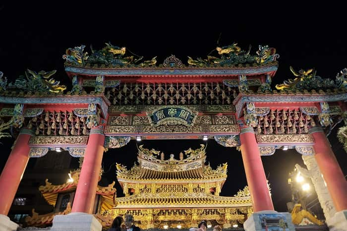 横浜関帝廟を再び