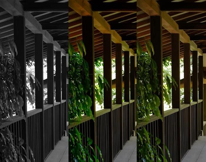 松戸本土寺の渡り廊下BKT