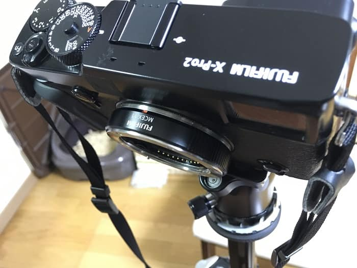 MCEX-11を装着