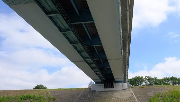 有料橋の橋脚