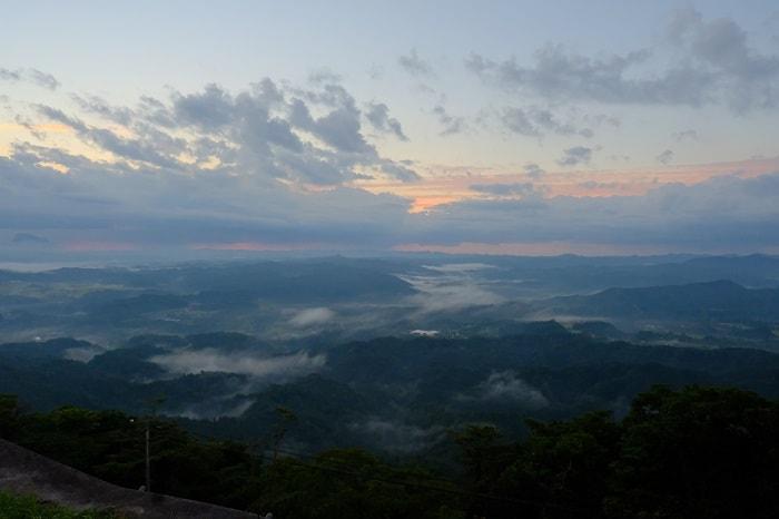 雲海ならぬ霧の鹿野山