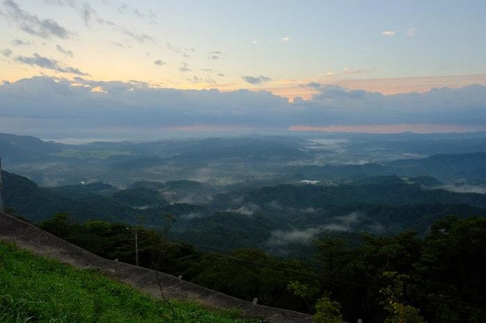 雲海ならぬ霧の九十九谷