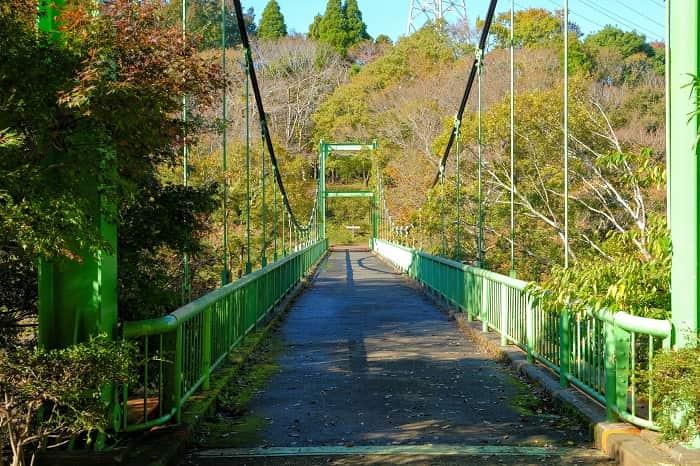 泉自然公園のいずみ橋
