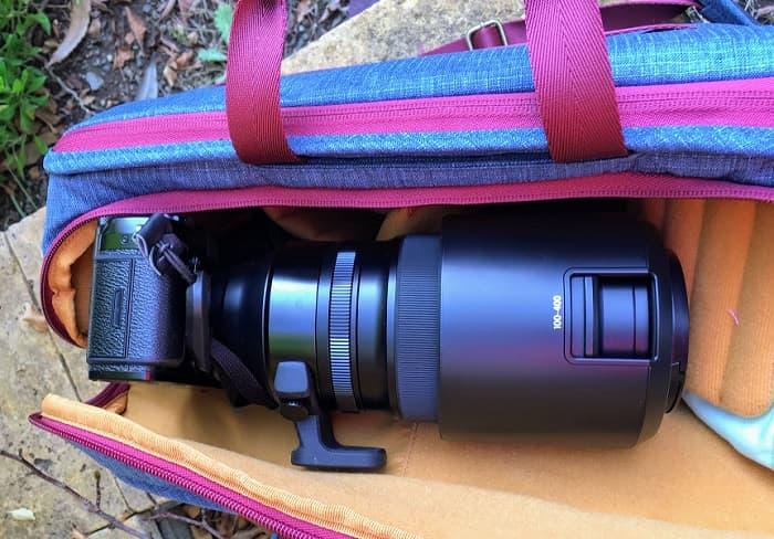 NG AU 5310とXF100-400mm