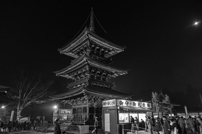 ACROSで撮る神社仏閣