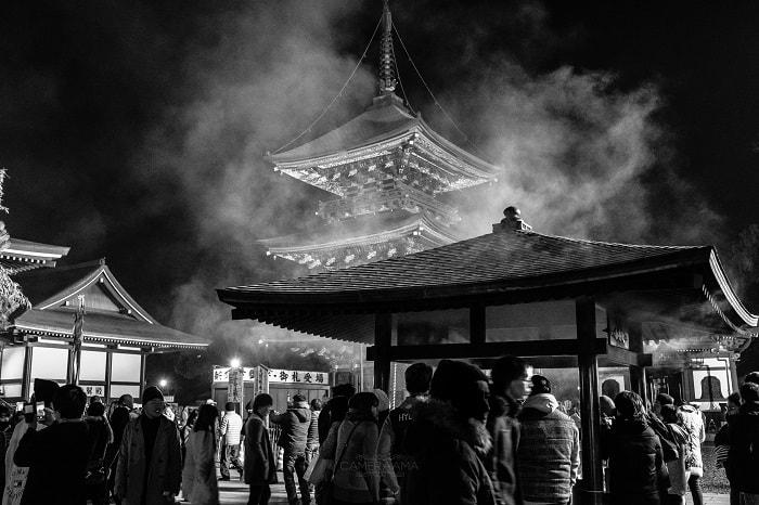 ACROS白黒写真と神社仏閣