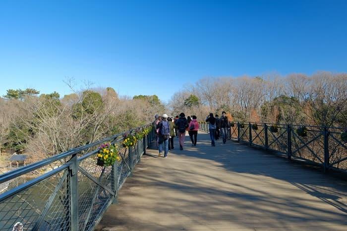 船橋アンデルセン公園の太陽の橋