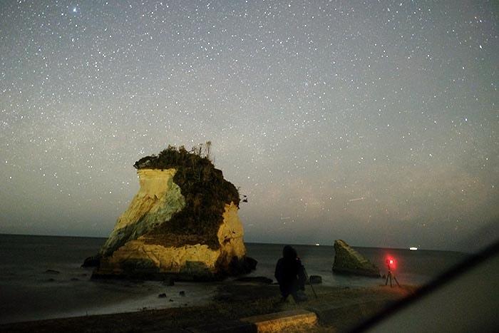 2月の天の川 雀島